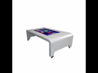 CSTCAD043WGBT-43寸卧式触摸茶几/触摸查询机/自助查询机