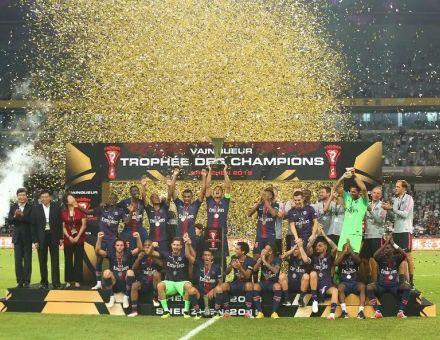 洲明体育显耀2018法国超级杯冠军之夜!