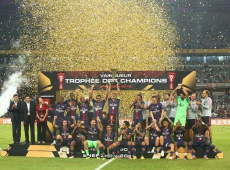 洲明体育显耀法国超级杯冠军之夜