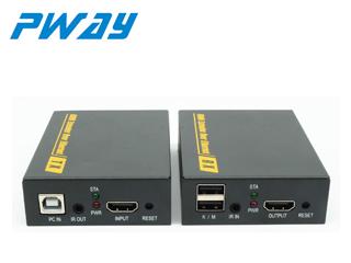 DT103KM-HDMI網絡延長器120米 帶kvm鼠標鍵盤