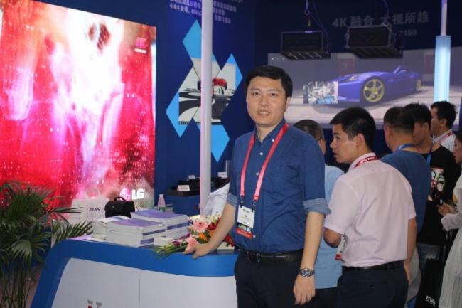 成都InfoComm展会:大视MM5000系列产品安排上了!