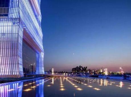 唐时明月西安航天城生态园灯光设计