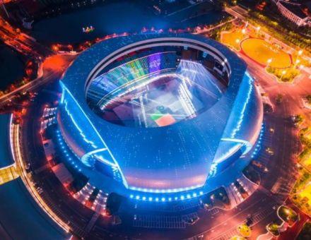 光看这些音响灯光设备就值了!浙江省运会惊艳开幕