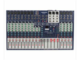 LX-16-16路调音台(4编组)