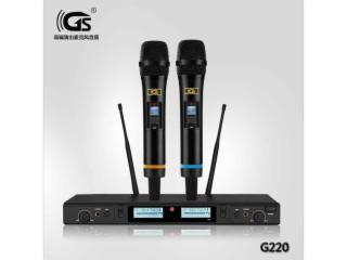 一拖二演出麦克风g220-g220真分集麦克风u段话筒好声音好品质