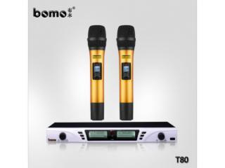 无线麦克风品牌话筒t80-bomo布木无线麦克风品牌价格厂家直销麦克风图片