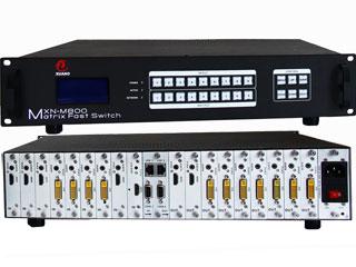 XN-M800-全无缝高清混合矩阵8*8矩阵机箱