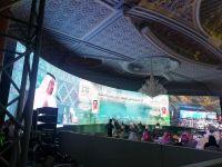 巴科光电租赁LED显示屏P4.81入驻沙特首都利雅得