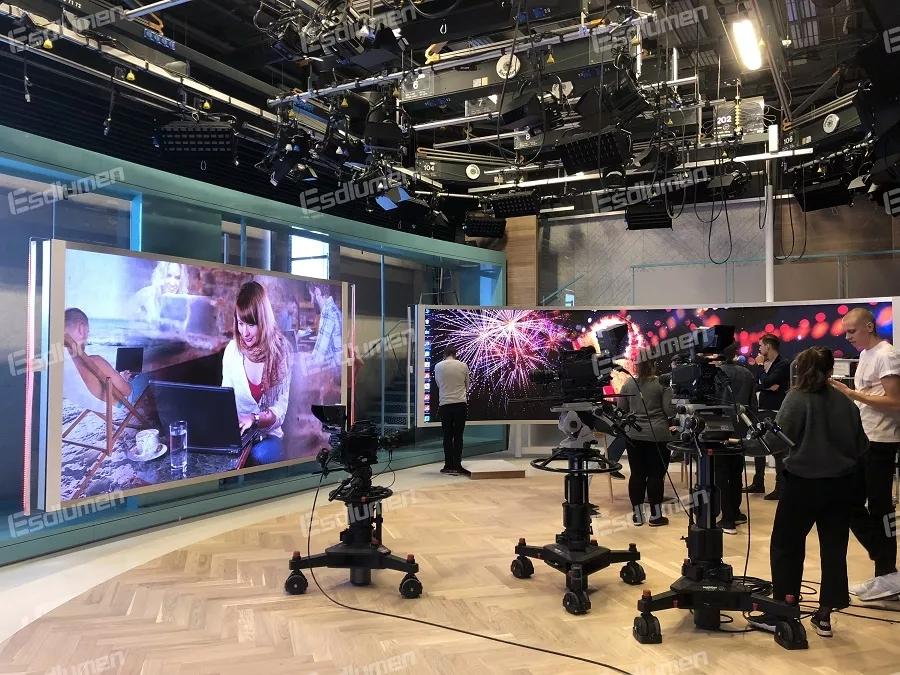 打造全屏化場景 易事達助力歐洲知名電視臺