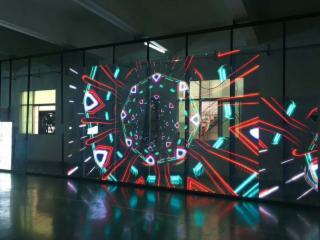 JTS3-P3.9櫥窗led透明屏