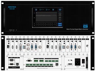 RHS-09H-触控型矩阵主机