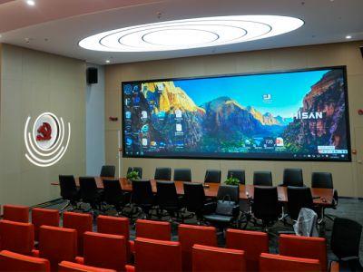 海盛翔和深圳南山南头街道综治指挥中心激光屏项目