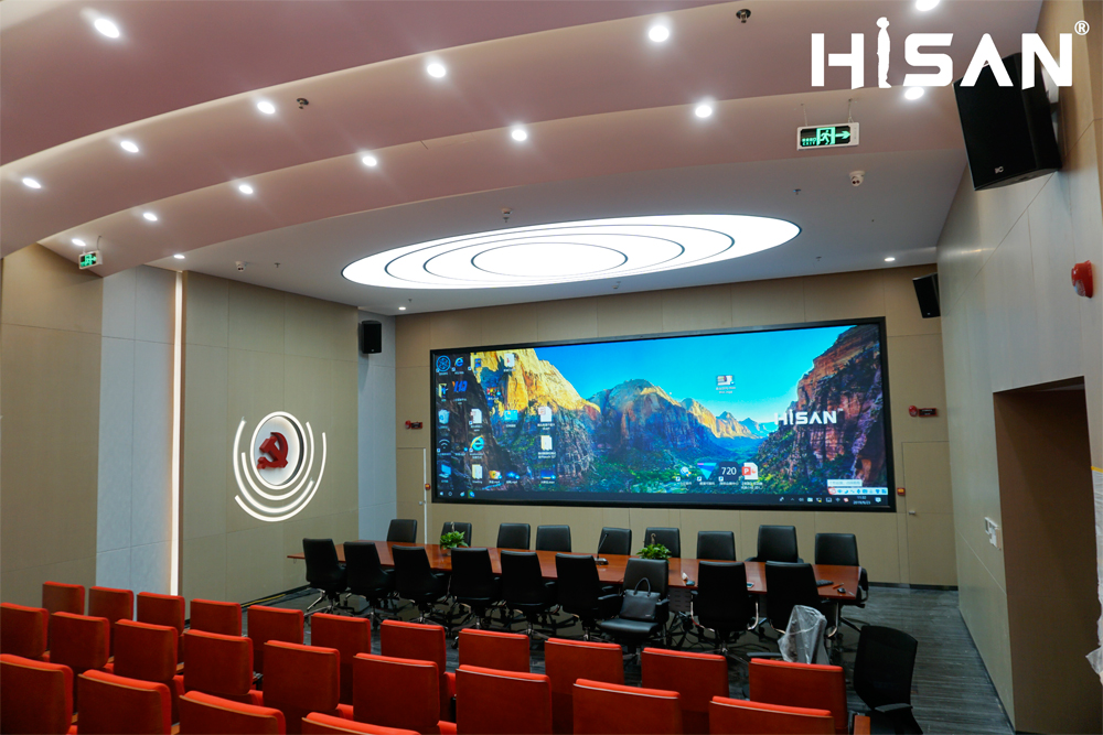 海盛翔和深圳南山南頭街道綜治指揮中心激光屏項目