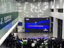全球唯一量产0.7全倒装MiniCOB首次亮相,AET助力军运会开幕式直播