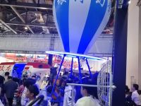 銀河幻影南昌世界VR大會首發產品—VR四人熱氣球VR主題樂園