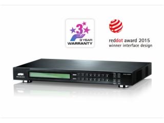 VM5808D-8x8 DVI矩阵式视频切换器+升频功用