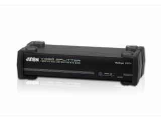 VS174-4端口DVI Dual Link/音频影音分配器