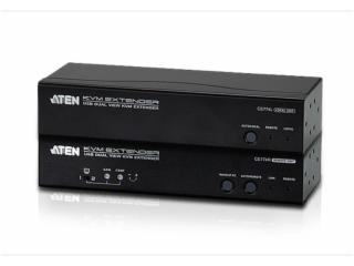 CE774-USB VGA双显示Cat 5 KVM信号延长器 (1600x1200@150m)