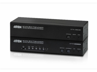 CE775-USB VGA双显示Cat 5 KVM信号延长器 + 抗色偏 (1280x1024@300m)