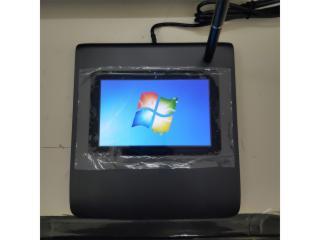 供應行業無紙化辦公5寸電磁式指紋液晶簽名板