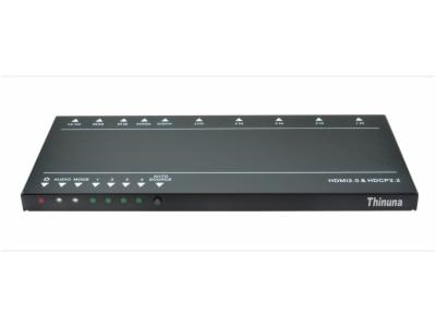 4KHDMI-0401-4K HDMI2.0 4切1HDMI切換器