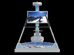 银河幻影VR极限运动 VR滑雪模拟器 VR虚拟滑雪 VR运动