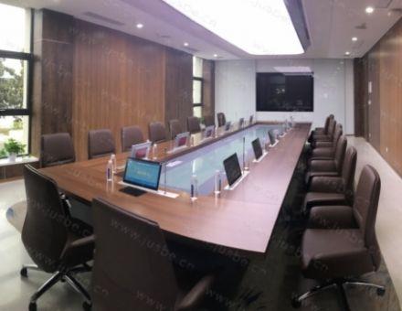 JUSBE(佳比)無紙化會議系統成功應用于江蘇萬邦醫藥公司