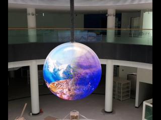 直徑1米P3球形屏-展覽館高清LED球形屏