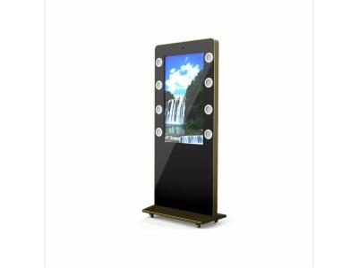 立式触控广告机(YC-43G02-C3)-落地触控一体机
