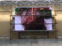 浩博百星|甘肅武山體育館室內全彩顯示屏