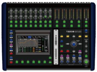 嘉迅 T-2208 20路4編組帶效果數字調音臺
