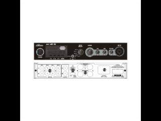 NXP-200-帶前置可插話筒功放(定壓定阻兩用)