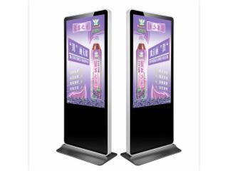 ZH-L6501-65寸75寸落地网络版广告机 楼宇4K显示