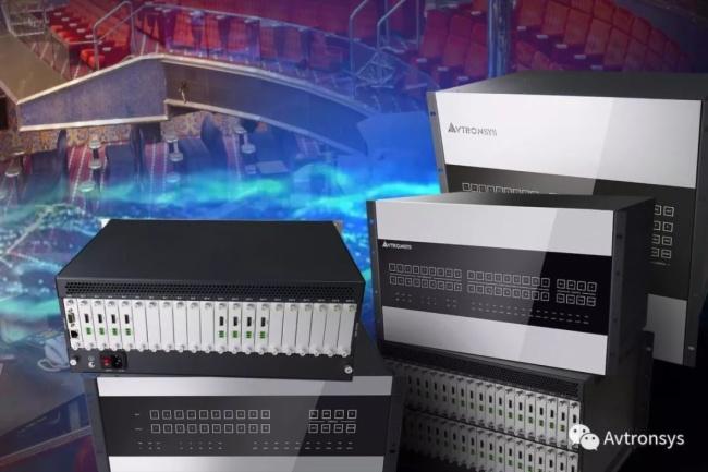 【指揮中心】艾維創DXP2系列高清混插矩陣切換器