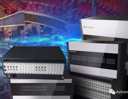 【指挥中心】艾维创DXP2系列高清混插矩阵切换器