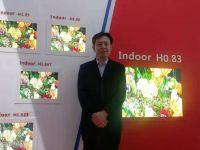 山西高科光電攜H0.83超高清小間距亮相2019國際LED展!