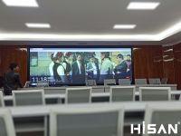 Hisan_海盛翔和激光屏复原人民法院实拍展示