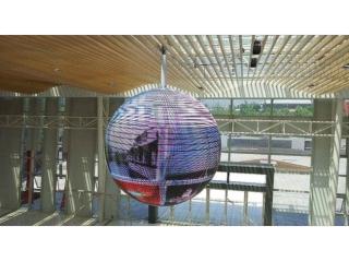 QX-p4-3-室内P4直径3米LED球形屏