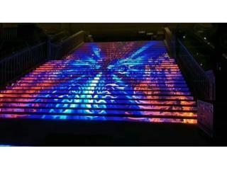 LED樓梯屏-LED樓梯屏