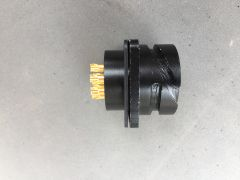 专业音响连接器8芯音箱母座防水座配件