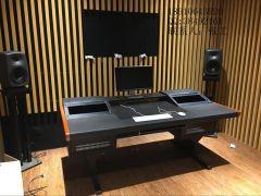 2019高級錄音棚工作臺,控制臺,音頻工作臺,色彩豐富,其余