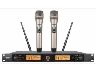 UR-200-U段双接收无线话筒(红外线对频)