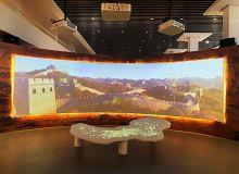 NEC高端商务投影现身内蒙古长城主题文化展