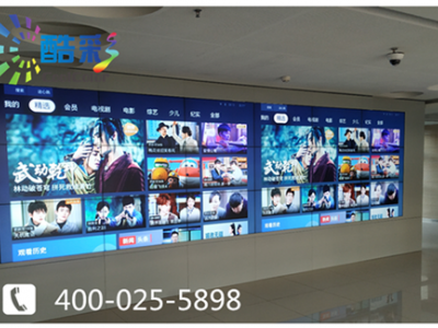 南京某大型企業三星55寸液晶拼接屏和46寸液晶拼接屏