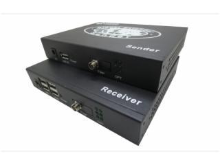 USB-2034-朗恒科技 光纤传输 USB-2034(4个USB2.0接口光纤延长20公里)