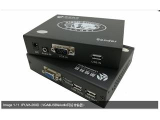 IPUVA-200D-朗恒科技 KVM延長器 IPUVA-200D(VGA+USB+Audio 支持一