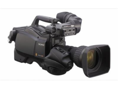 HSC-E85RF-具有三个 2/3 英寸 Power HAD FX CCD 成像器的便携式高清/标清摄像机适用于光纤操作
