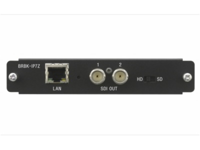 BRBK-IP7Z-适用于 BRC-Z700 摄像机的 IP 远程控制选项板