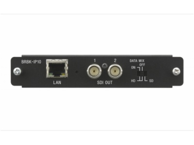 BRBK-IP10-适用于 BRC-H900 摄像机的 IP 远程控制选项板