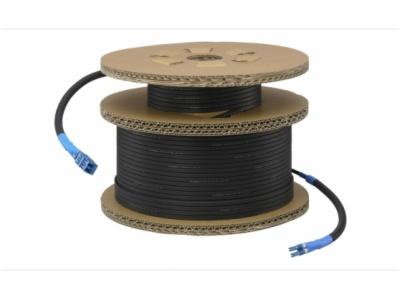 CCFC-S200-将 BRC-H900 和 BRC-Z330 摄像机(配备可选的 BRBK-SF1 卡)连接到 BRU-SF10 的 200 米单模光纤电缆